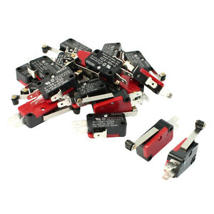 mini micro switch 20 pcs mini micro limit switch long roller lever arm spdt snap action r5s4