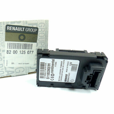 RENAULT MEGANE & SCENIC MK2 Ignition Key Card Reader GENUINE OE 8200125077