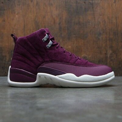 2017 Nike Air Jordan 12 XII Retro Bordeaux Burgundy Size 16. 130690-617