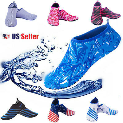 Water Aqua Quick-Dry Barefoot Skin  Shoes for Vaction Beach Swim Running Sports