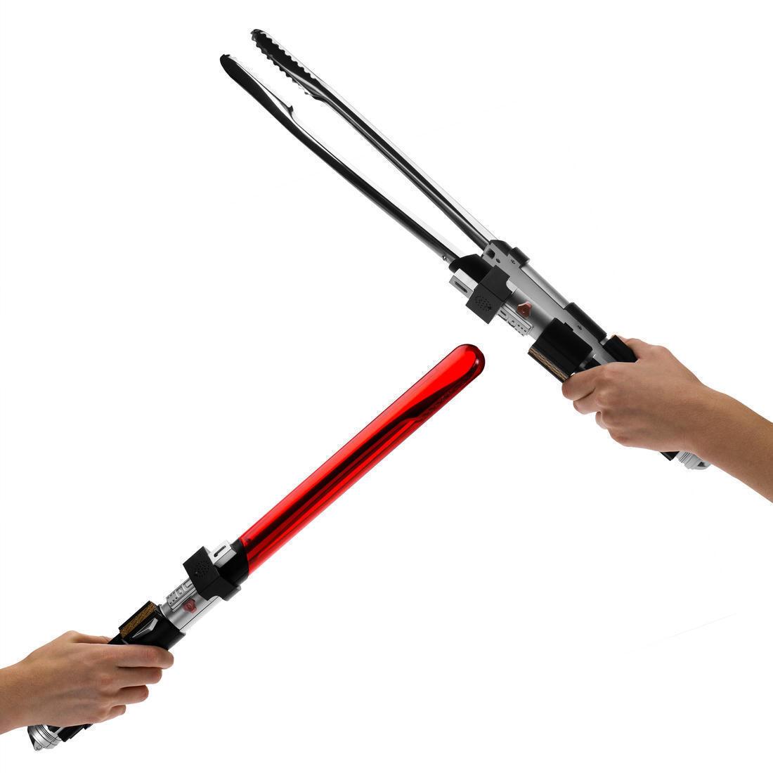 """Star Wars Grillzange """"Lichtschwert"""" Lightsaber BBQ Zange Lord Vader Schwertzange"""