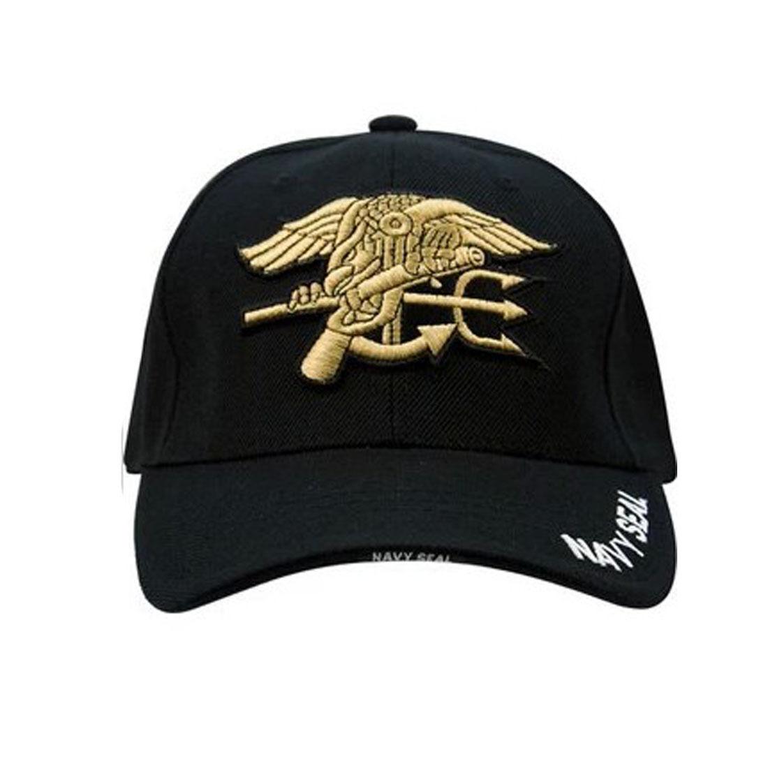 Outdoor Sports Black Tactical Military Hunting Hats Navy Seal Baseball Cap Hat