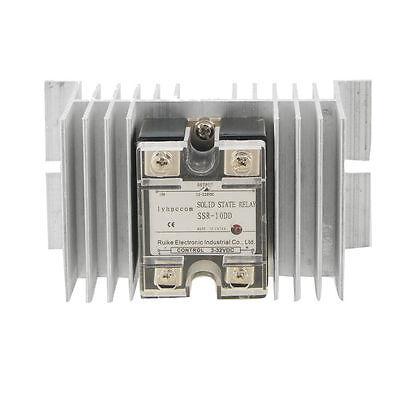 Ssr-10dd Single Phase Solid State Relay Heat Sink Dc 3-32v Dc 12-220v.