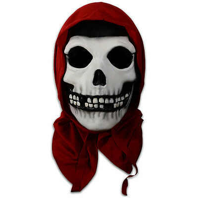Misfits Red Hood Fiend American Psycho Album Adult Halloween Mask (Misfits Halloween Mask)
