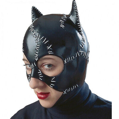 Catwoman Mask Womens Eye Black Adult Movie Costume Licensed Batman Dark (Adult Movie Batman Mask)