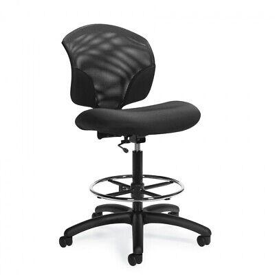 Global Model 1924-6 Low Back Armless Task Drafting Chair