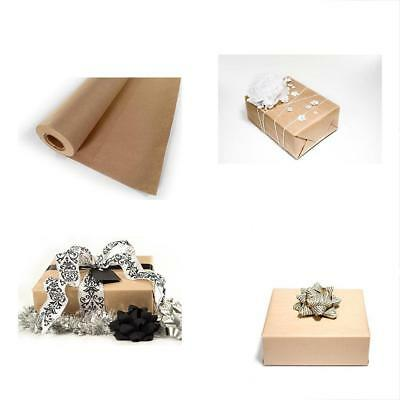 Kraft Paper Jumbo Roll Wrap Brown Craft Butcher Packing Mail - 30 X 1200 100ft