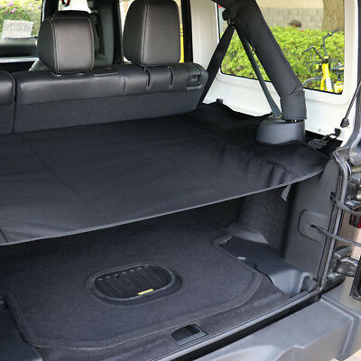 Trunk Cargo Shade Cover Net Organizer Shield For Jeep