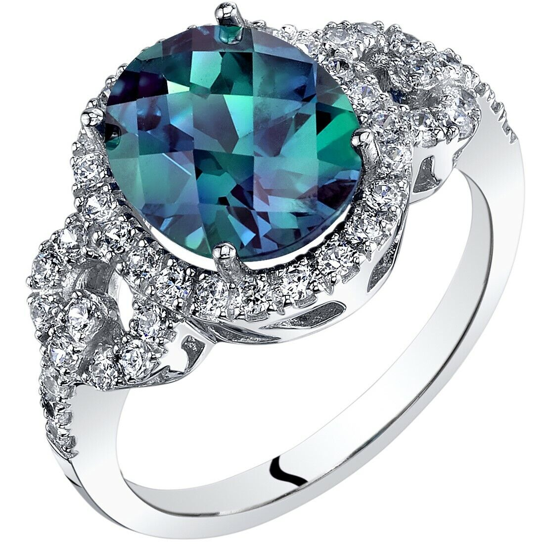 Festive Sales 3.25 Ct Color Changing Alexandrite Oval Gemstone 100/% Natural AGI Certified H6438