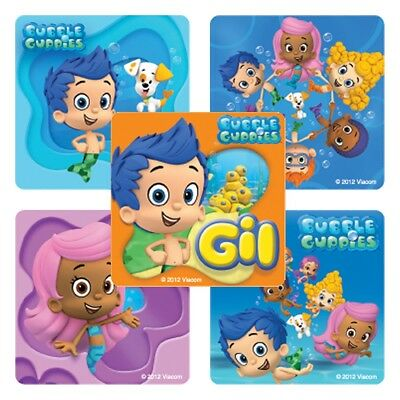 20 Bubble Guppies STICKERS Party Favors Supplies Birthday Treat Loot Bags](Bubble Guppies Birthday)