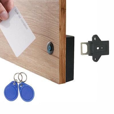 Battery Rfid Cabinet Drawer Lock 1 Rfid Card And 2 Key Fobs - Rfid-2b-b