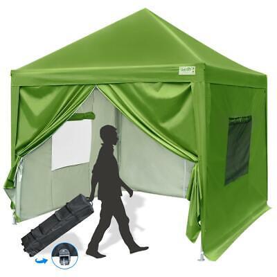 Upgraded Quictent 8X8 EZ Pop Up Canopy Tent Folding Canopy w