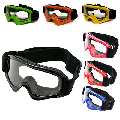 Youth Motocross Motorcycle Dirt Bike ATV MX Off-Road Goggles~K,B,R,G,P,O,Y Atv Off Road Goggles