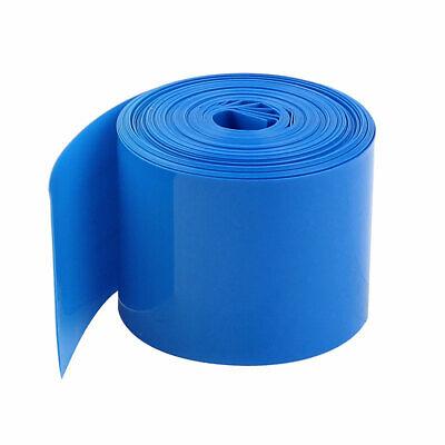 Azul 5M 29,5mm Ancho PVC Encogimiento Calor Envoltura Tubo 1 x 18650...