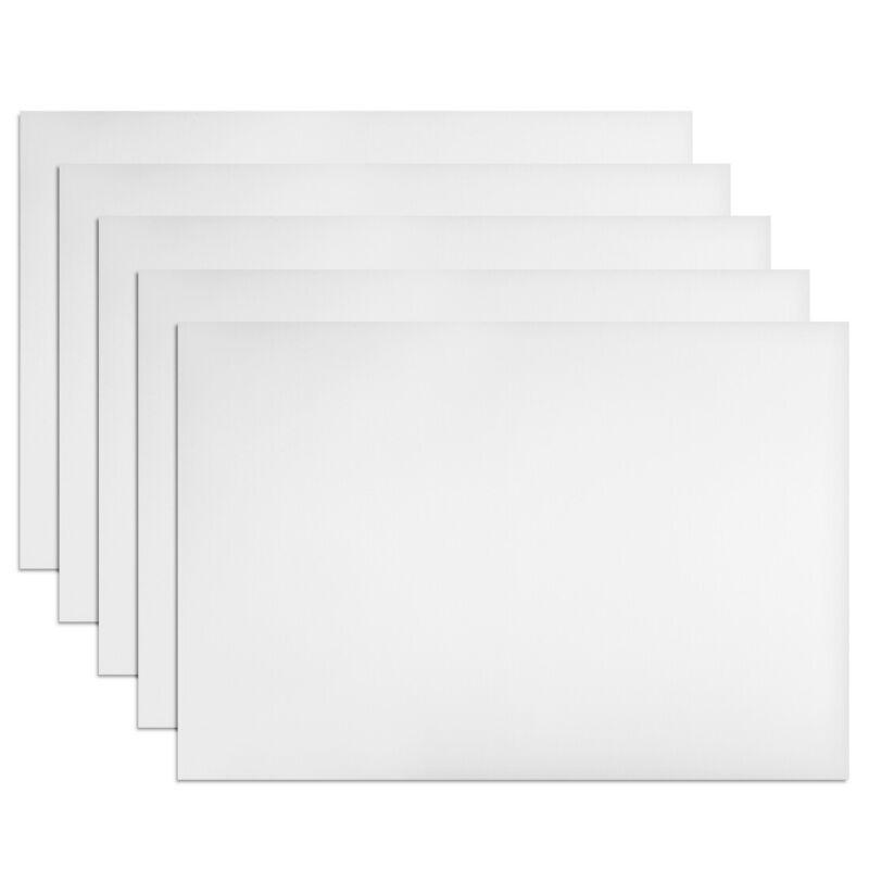 "5Pcs Dry Erase  Magnetic Strip 11.7"" x 8"" Labels Stickers Writable White"