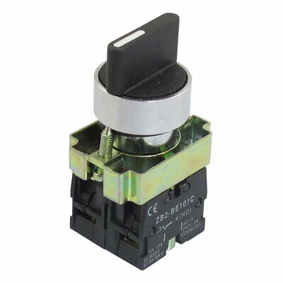 78 3-position Rotary Switch Knob Selector Select Latching Locking 240v Ac 3a