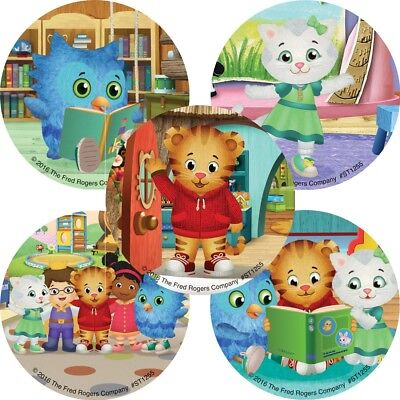 20 Daniel Tiger's Neighborhood STICKERS Party Favors Supplies Birthday Loot Bags