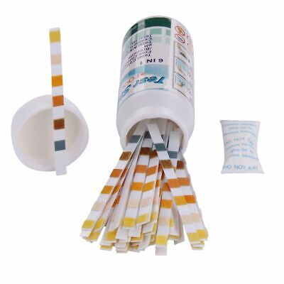 50 Teststreifen TS 6-in-1 Wassertest Pooltester Chlor PH Brom Härte Cyuanur etc