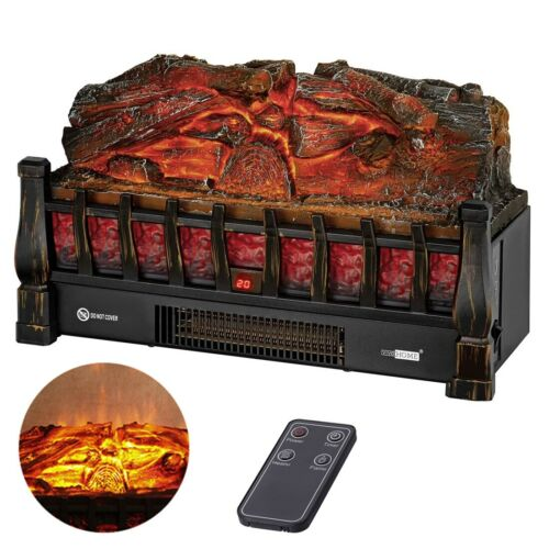 110v electric fireplace space heater w 3d