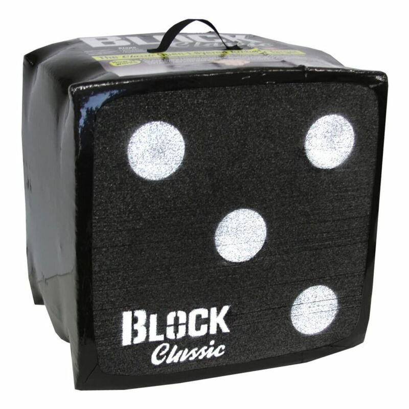BLOCK Classic 2 Sided Archery Target with Patented Design and Easy Arrow Removal