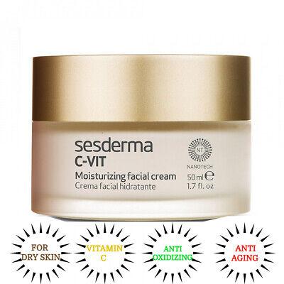 SESDERMA C-VIT Moisturizing Facial Cream 50ML NanoTech Dry Skin (C-vit Moisturizing Facial Cream)