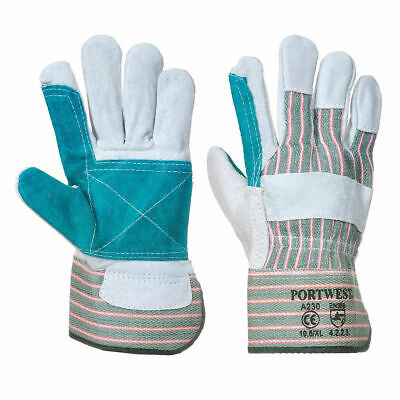 Portwest Double Palm Rigger Heavy Duty  Protection Safety Wear ANSI 105 A230