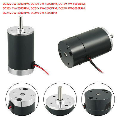 Dc 12v24v 5000rpm High Torque Electric Motor Geared Motor Ccw Replacement Motor