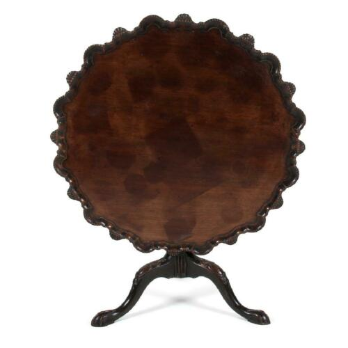 Charming Pie Crust Tilt Top Table, 18th century (1700s)!!