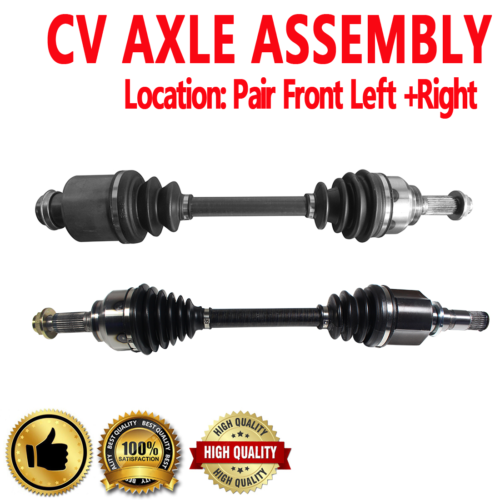 CV Axle Shaft Rear-Left//Right SurTrack KA-8046
