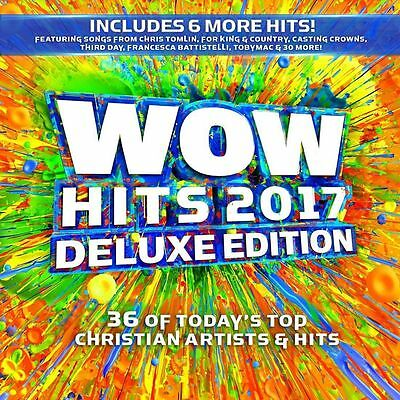 Wow Hits 2017 2Cd Deluxe Edition Christian Artists Brand New   Sealed