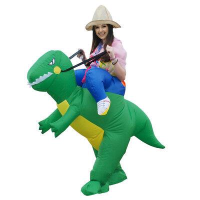 Adult Inflatable Dinosaur Costume Ride Me Horse Unicorn Costume Fancy Dress