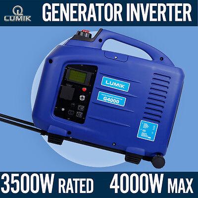 3.5kVA Rated / 4.0kVA Max Generator Pure Sine Inverter Portable Camping Caravan