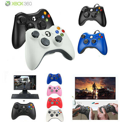 Wireless/Wired USB Controller Gamepad for Microsoft Xbox 360 &PC -Dual Vibration