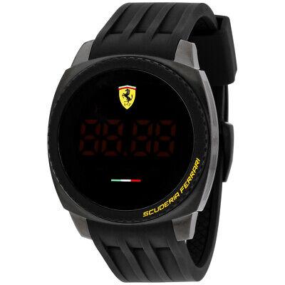 Ferrari Aero Touch Quartz Movement Digital Dial Men's Watch 830229