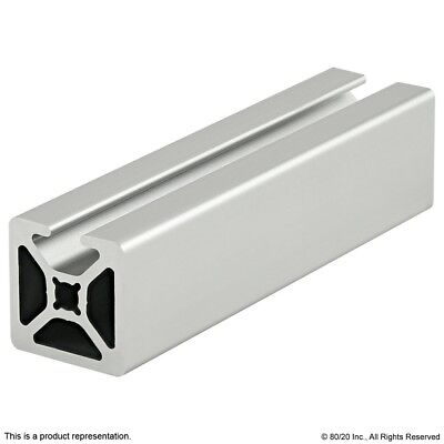 8020 Inc 10 Series 1 X 1 Smooth Single Slot Alum Extrusion 1001-s X 24 Long N
