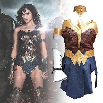 Wonder Woman Halloween Costume 2017 (2017 New Wonder Woman Diana Princess Cosplay Costume Halloween Party Hot)