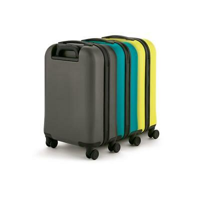 Mini Cooper Cabin Trolley Grey Aqua Lemon Hard Case Carry On Suitcase Luggage -