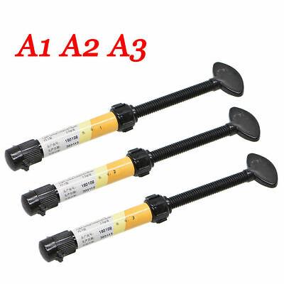 Dental Denfil Dentex Light Curing Resin Shade A1 Refill Syringe Composite