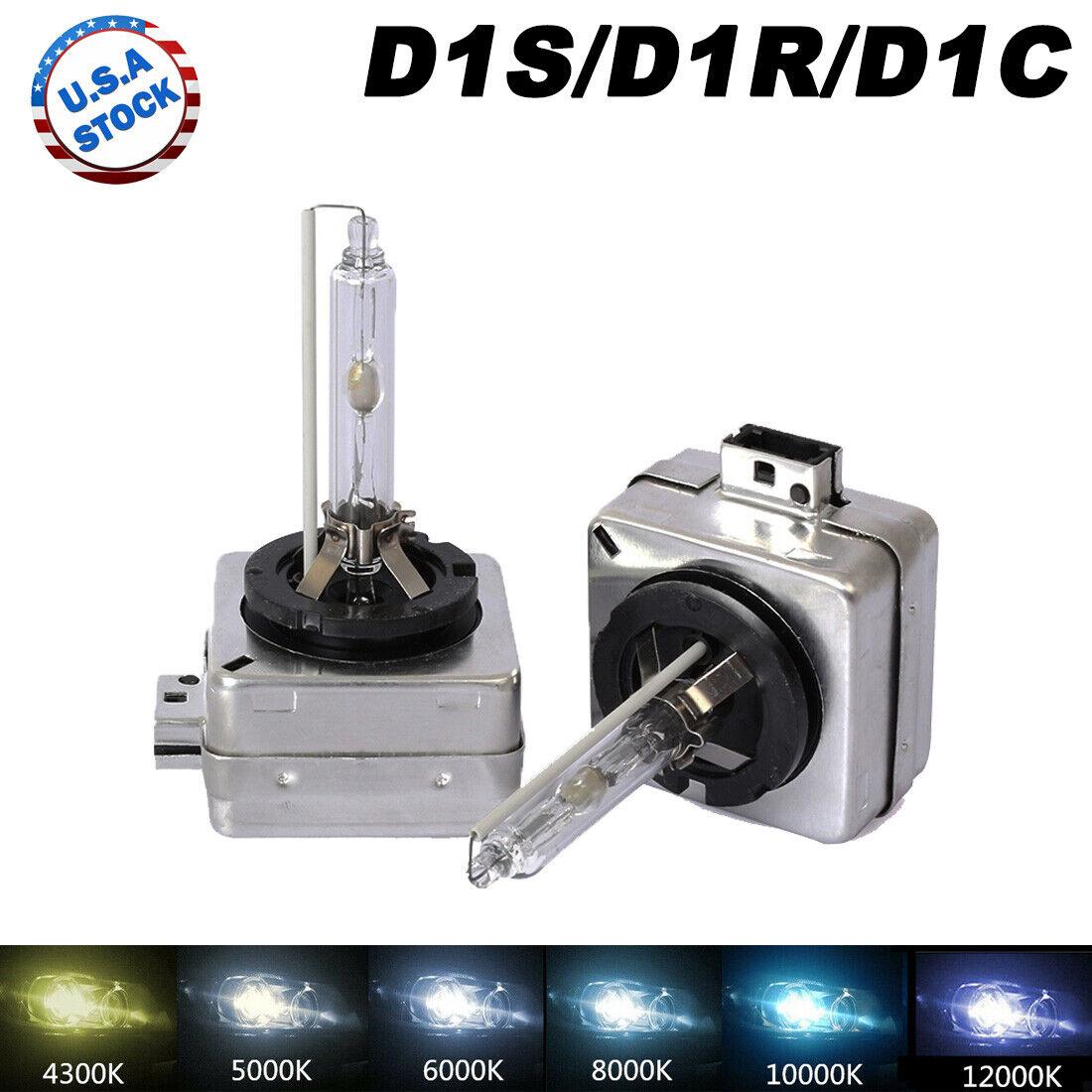 Pair D1S Xenon Hid Bulbs 35W White 6000K Replacement Mini Coupe R58 2011-2015