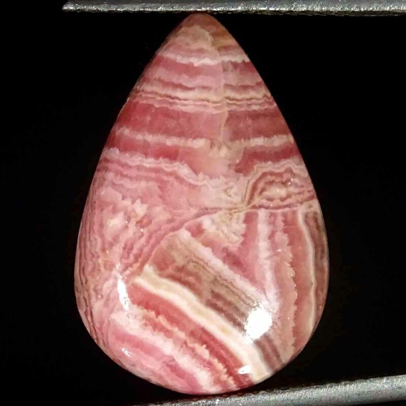 15.40Cts Natural Rhodochrosite Pear Cabochon Loose Gemstone
