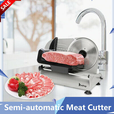 7.5blade Commercial Household Meat Cutter Electric Deli Slicer Kitchen Mechine