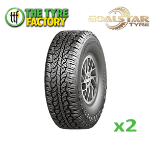 2x Goalstar CATCHFORS A/T 245/75R17 4WD & SUV Tyres Perth Perth City Area Preview