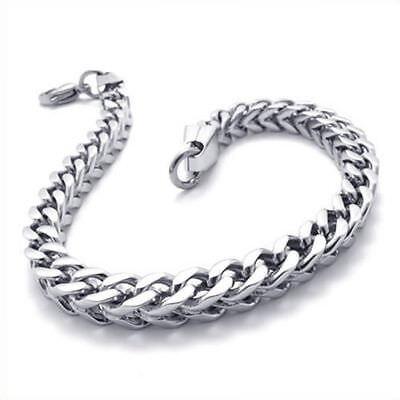 Edelstahl Herren-Armband - 22,5cm - Schmuck Herrenkette