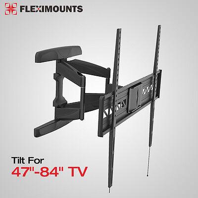 """Articulating Tilt OLED LED HD TV Wall Mount Bracket 47 65 70 80 84"""" for Samsung"""