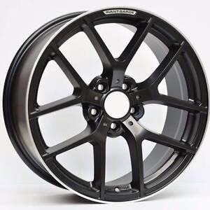 Mercedes wheels 18x9 Satin Black Machined Lip M655 Murrumbeena Glen Eira Area Preview