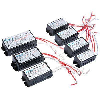 - 20W 60W 80W 105W 200W 250W AC 220V To 12V Electronic Transformer Halogen Light