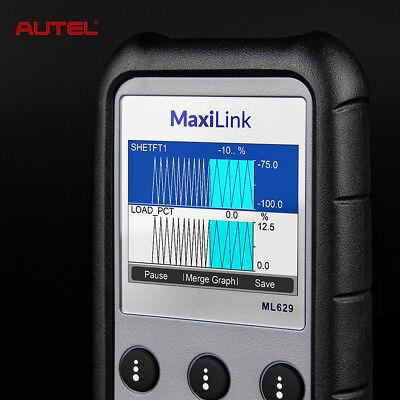 Autel ML629 Auto Diagnostic Tool OBD2 Code Reader Scanner ABS SRS Transmission