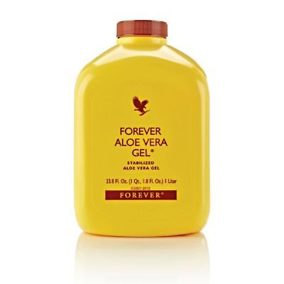 100 PACK Forever Living Aloe vera gel 1 Liter each 100% Original Product FSWW