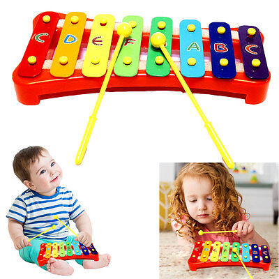 Dazzling Toys Kids 2 Sticks Musical Xylophone Educational Instrument Toy