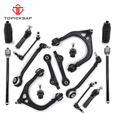 For 11-17 Dodge Charger Challenger 300 Front 16 Pc Control Arms Suspension Kit